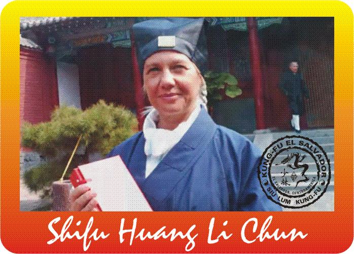 Kung fu Shifu Huang Li Chun 1