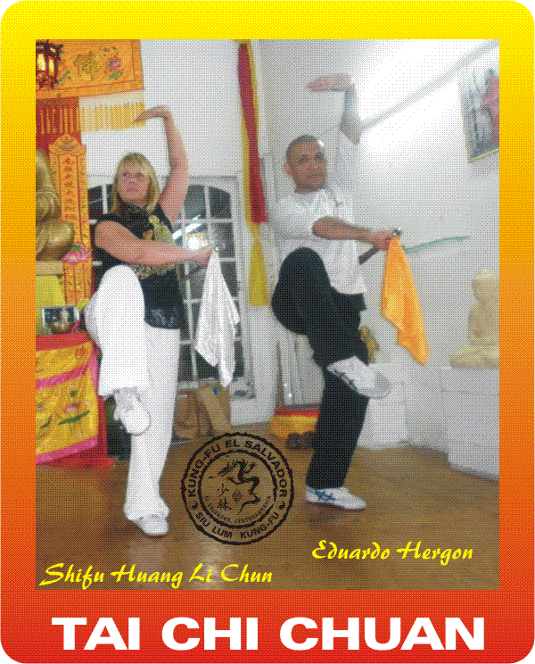 Kung fu Shifu Huang Li Chun 2