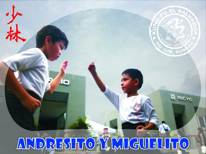 Foto Galería Web, Andresito y Miguelito, Holcin